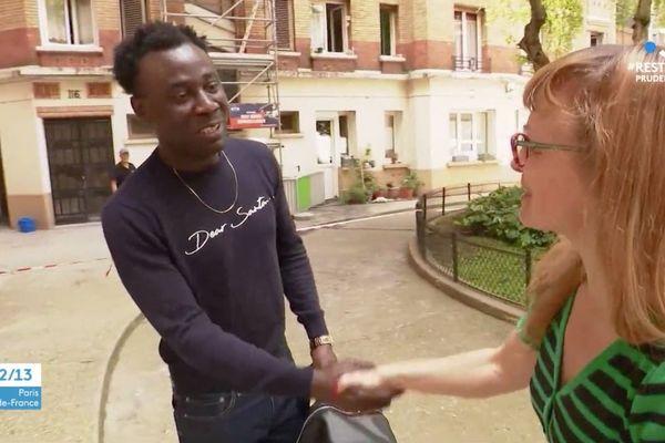 Djalega Léon Gnahoré alors sur les lieux a permis de sauver des vies.
