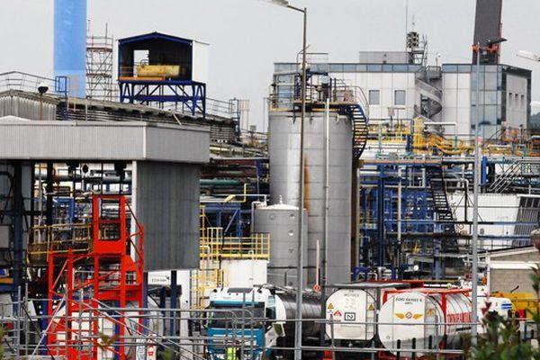 L'usine Lubrizol à Rouen