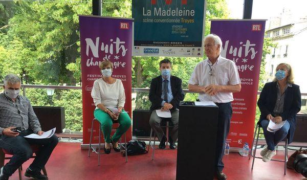 Pierre-Marie Boccard, directeur des Nuits de Champagne a annoncé le report ce jeudi 18 juin.