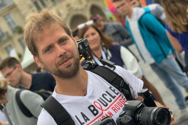 Jérémy Chalon, l'homme qui veut faire la peau au SIDA
