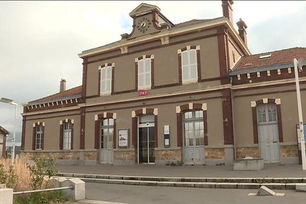 la gare de Oissel