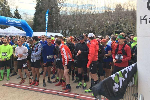 Le premier trail urbain du Puy-en-Velay a réuni 460 coureurs ce dimanche 14 avril 2019.