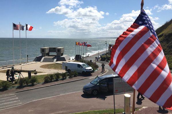 La cérémonie internationale pour commémorer le 76e anniversaire du Débarquement de Normandie a eu lieu à huis clos, ce 6 juin 2020.