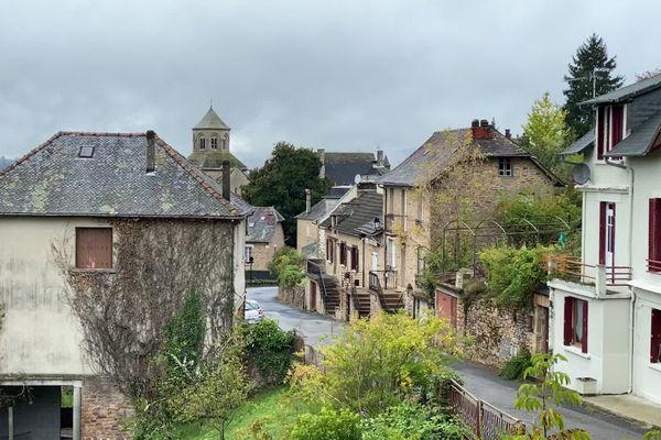 Le petit village d'Aubazine.