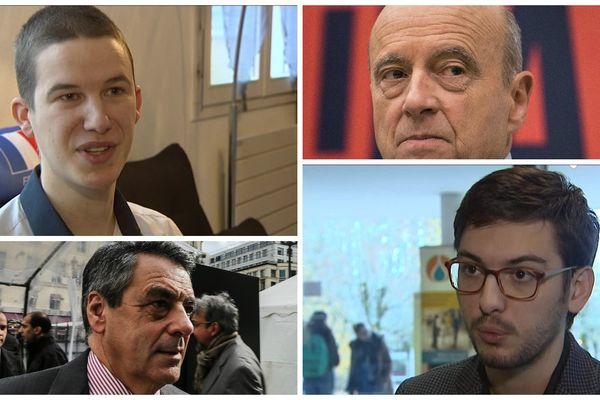 Rencontre avec deux jeunes soutiens de François Fillon et Alain Juppé. Un sujet de Sofian Aissaoui, Denis Colle et Isabelle Cavaletto.