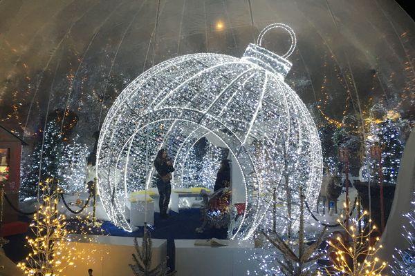 La décoration féérique des bulles enchantées de Troyes