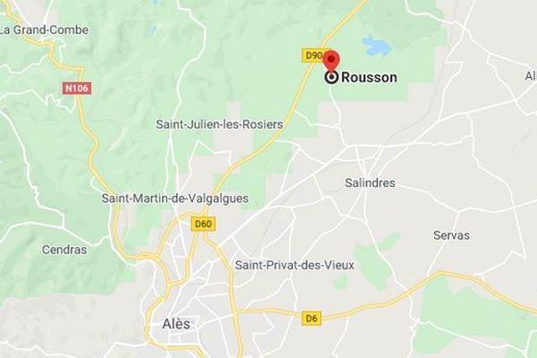 Un homme d'une soixantaine d'années, qui était retranché chez lui à Rousson au nord d'Alès, a été arrêté vers 3h du matin par le GIGN. Il avait menacé sa compagne avec une arme.