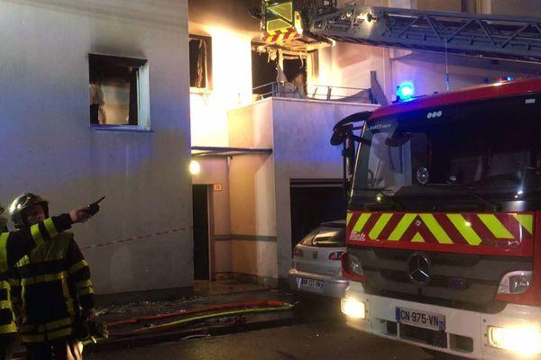 L'incendie a été circonscris peu avant 17h.