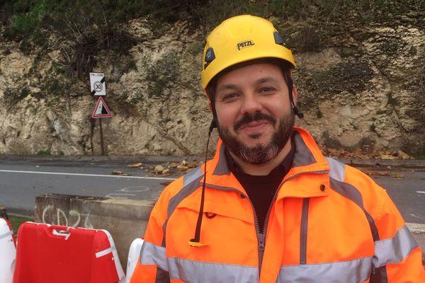 Le géologue Nicolas Pascuttini de la société Géolithe confirme que les falaises peuvent présenter des risques