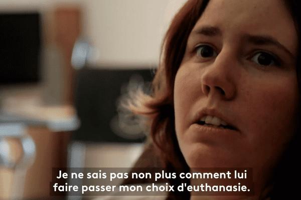 Hélène, 29 ans, témoigne dans le documentaire de France 5