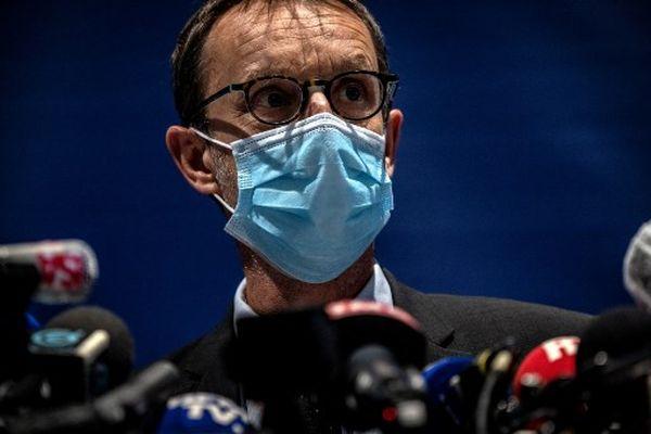JEFF PACHOUD / AFP - Éric Vaillant, procureur de la République de Grenoble.