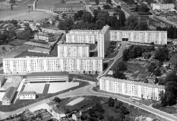 La cité de Bellevue à Limoges dans les années 60