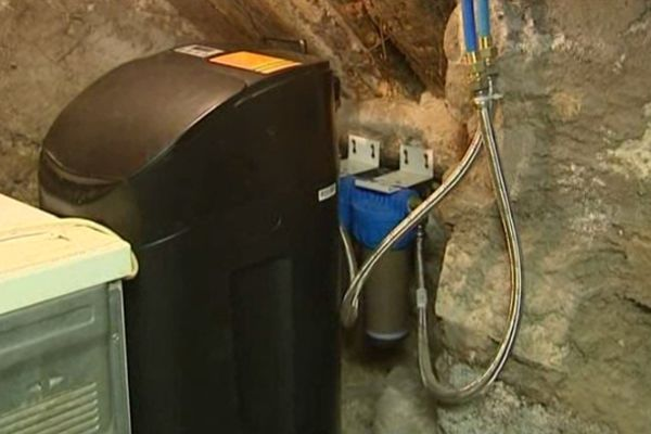 L'adoucisseur d'eau proposé par la société Sunwater.