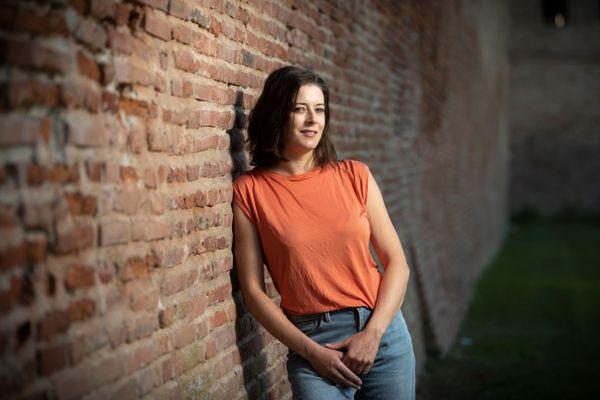 """Maylis Adhémar, auteure de """"Bénie soit Sixtine"""" est journaliste indépendante à Toulouse"""
