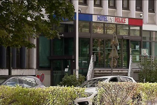 L'hôtel de police de Grenoble (Isère).