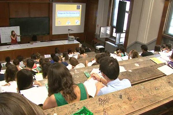 Montpellier - la faculté de médecine - archives