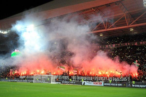 L'ASSE a décroché la victoire face au PSG (4-0)