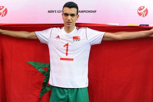 Zouheir El Graoui est la nouvelle recrue du Stade Poitevin Volley Beach (SPVB).
