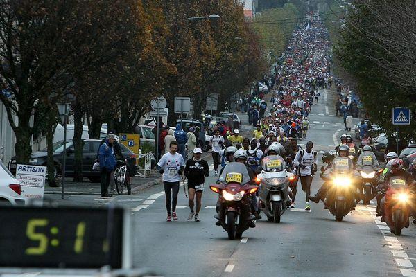 Marathon de La Rochelle en 2008