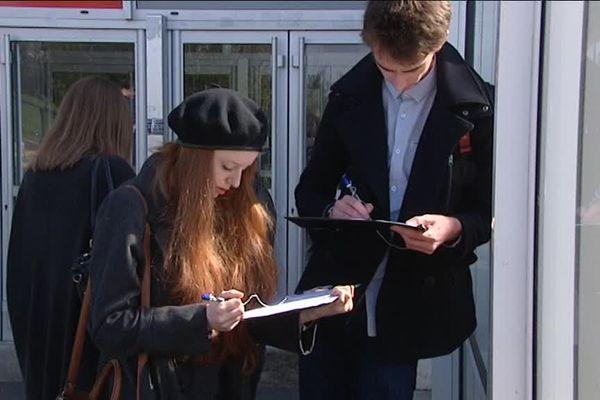 A Caen, une expérimentation de vote par approbation est menée auprès des étudiants