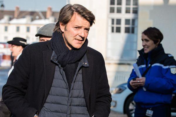 François Baroin, maire de Troyes et président de l'agglomération Troyes Champagne Métropole.