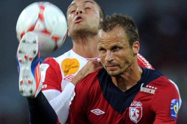 David Rozenhal, lors du match Lille-Nancy, le 17 août 2012.