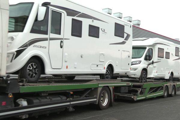 L'usine Fleurette de Benet en Vendée tourne à plein grâce au boom des ventes de camping cars.