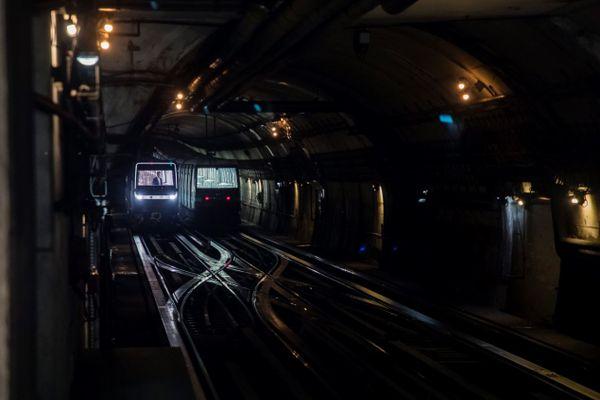 Des métros parisiens, sur la ligne 14 (illustration).