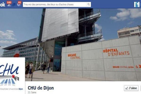 Le CHU de Dijon a ouvert une page Facebook pour mieux communiquer avec les patients