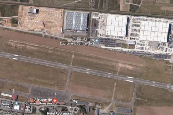 L'accident a eu lieu en bout de piste, à l'aéroport de Colmar-Houssen.