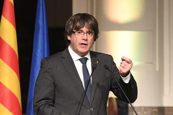 Carles Puigdemont à Bruxelles le 7 novembre 2017.