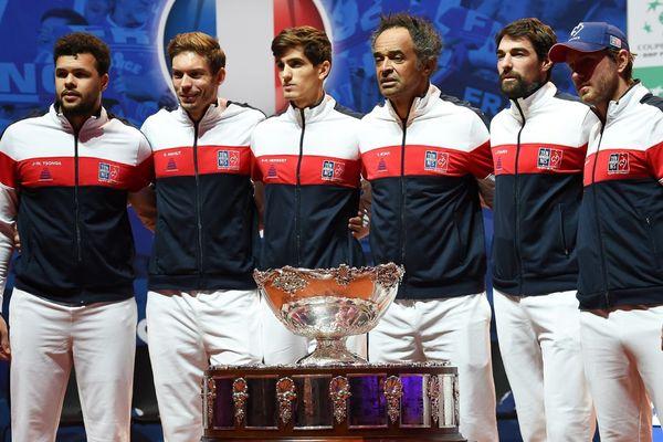 L'équipe de France de Coupe Davis qui affrontera la Croatie