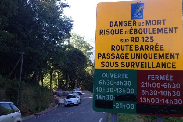 La route départementale 125