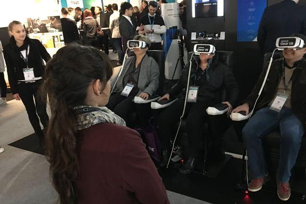 """Démonstration """"immersive"""" au salon Laval Virtual 2017"""