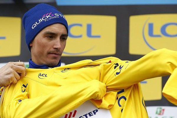 Le 8 mars Julian Alaphilippe, originaire de Montluçon (Allier), a survolé la quatrième étape de Paris-Nice et endosse le maillot jaune.
