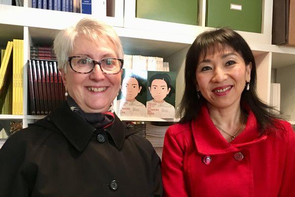 Martine Janicot-Demaison et Aline « Trang » Maslankiewicz