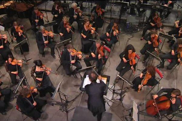 L'Orchestre Victor Hugo Franche-Comté dirigé par Jean-François Verdier