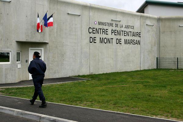 Le centre pénitentiaire de Mont-de-Marsan au moment de sa création en 2008.