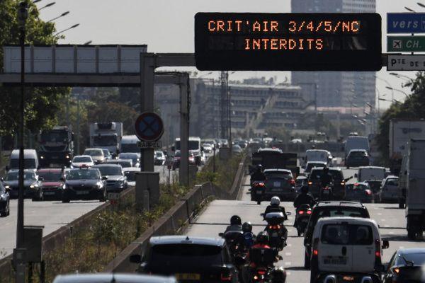 Le périphérique parisien, le 31 juillet dernier (illustration).