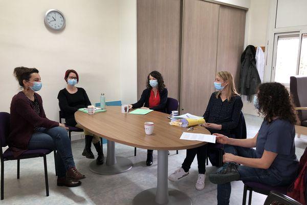 L'équipe du centre de psychotraumatologie de Poitiers