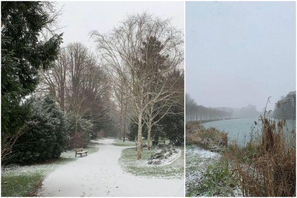 Nature gelée à Châlons-en-Champagne
