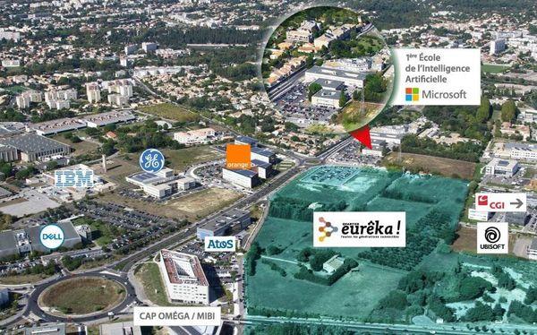 L'école Microsoft sera installée à proximité des entreprises située dans la zone d'activité du Millénaire à Montpellier