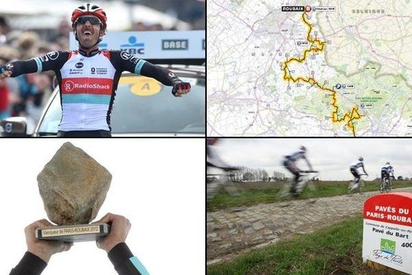Les favoris, le parcours, les secteurs pavés, les infos pratiques... Tout savoir sur le Paris-Roubaix 2013.