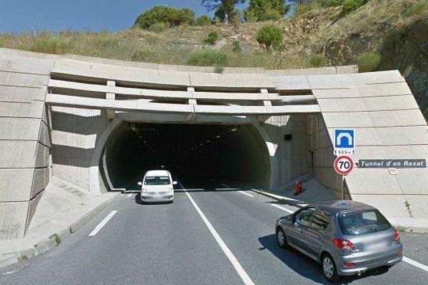 Le tunnel d'En Raxat entre Collioure et Port-Vendres en travaux - archives