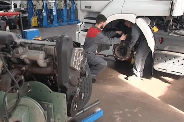 Le CFA de Dinan (22) pour la mécanique et la maintenance des poids-lourds