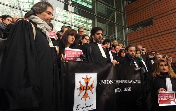 Les jeunes avocats sont les plus concernés par ce projet de réforme.