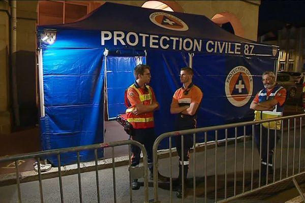 La Protection Civile 87 mobilisée pour la Fête de la Musique à Limoges.
