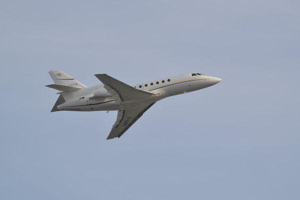 Un des avions de la compagnie Michelin Air Services.