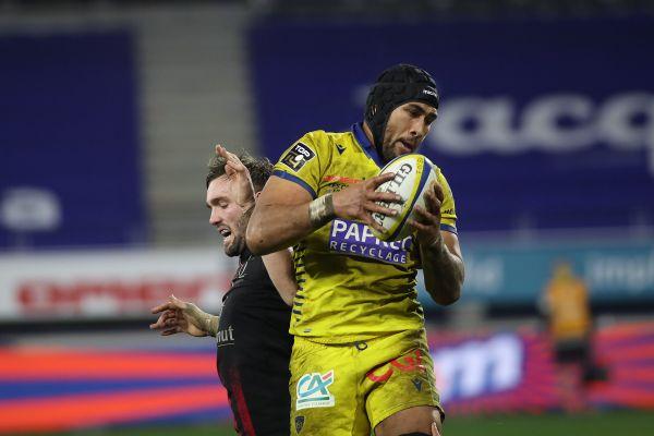 Le joueur de l'ASM Clermont Auvergne Sébastien Vahaamahina, blessé, ne pourra pas terminer la saison.