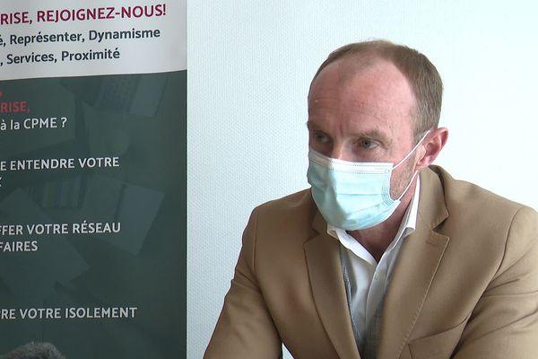 Nicolas Darcos, à la tête de confédération des PME de l'Aude, intervient auprès de l'Etat lorsque les aides promises tardent.